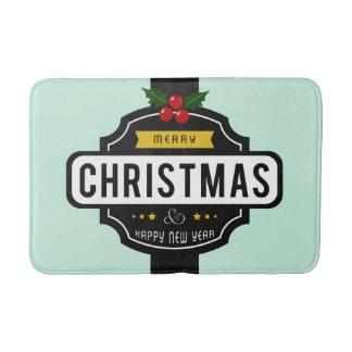 Noël souhaite des tapis de bain