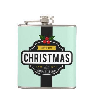 Noël souhaite le flacon nommé fait sur commande