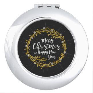 Noël souhaite le miroir de poche
