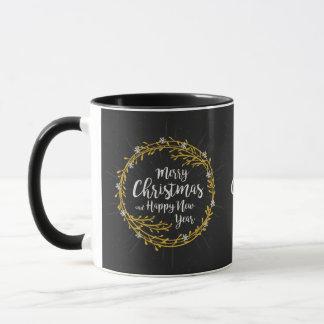 Noël souhaite les tasses nommées faites sur