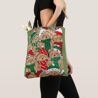 Noël soutient le sac fourre-tout