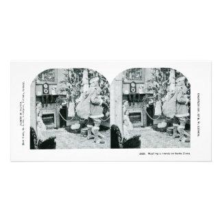 Noël Stereoview - cru Photocartes Personnalisées