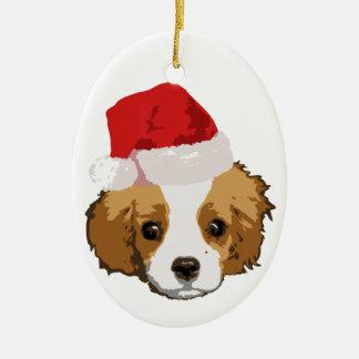 Noël très cavalier Oranament Ornement Ovale En Céramique