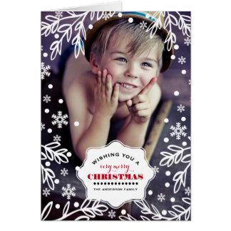 Noël très Joyeux. Cartes photos faits sur commande