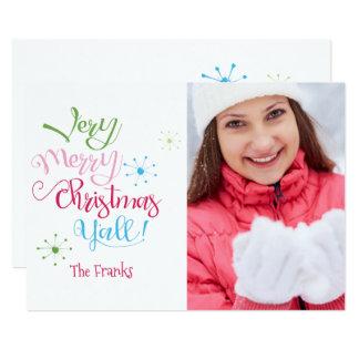Noël très Joyeux vous carte de vacances