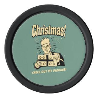 Noël : Vérifiez mon paquet Jetons De Poker