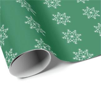Noël vert-foncé de Noël de conception de vacances Papier Cadeau Noël
