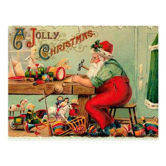 Carte postale de Noël vintage