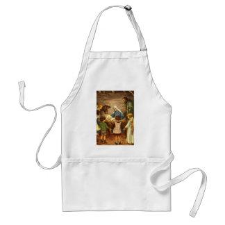 Noël vintage, bébé religieux Jésus de la nativité Tablier