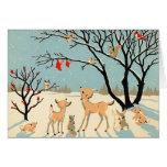 Noël vintage cartes de vœux
