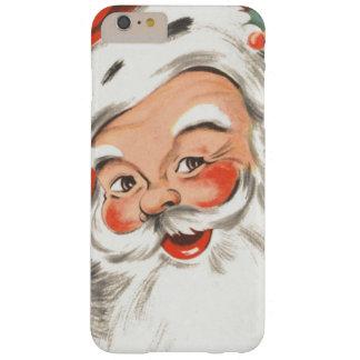 Noël vintage, le père noël gai avec le sourire coque barely there iPhone 6 plus