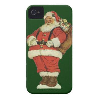 Noël vintage, le père noël victorien avec des coque Case-Mate iPhone 4