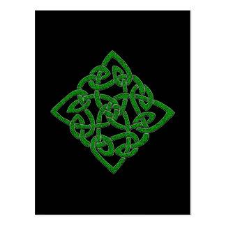 Noeud celtique - cartes postales de diamant