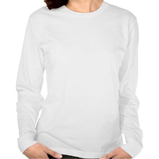 Noeud celtique dans la chemise de flammes t-shirt