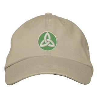 Noeud celtique de trinité casquette brodée