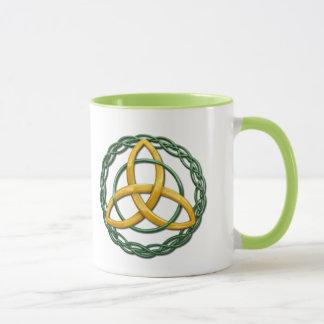 Noeud celtique de trinité mug