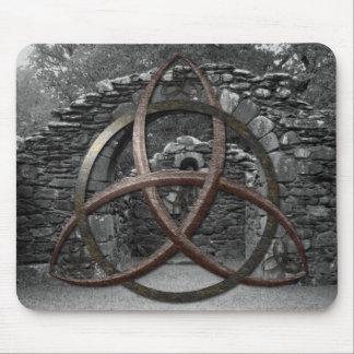 Noeud celtique de trinité tapis de souris
