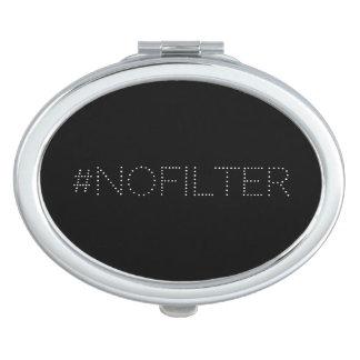 #nofilter drôle moderne élégant miroirs de poche