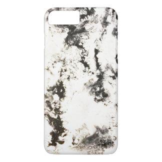 Noir, blanc et argent coque iPhone 8 plus/7 plus