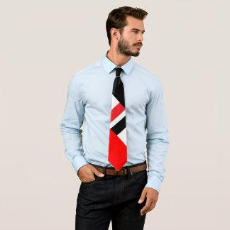 Noir blanc rouge cravates