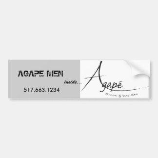 Noir bouche bée de logo [1], HOMMES BOUCHE BÉE - c Autocollant De Voiture