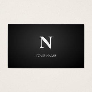 Noir Cartes De Visite
