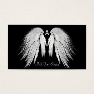 Noir d'AILES d'ANGE vous sélectionnez la coutume Cartes De Visite