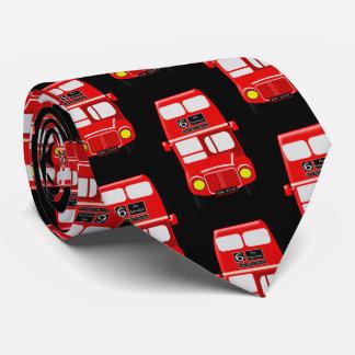 Noir de conception d'autobus cravate