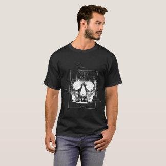 Noir de crâne t-shirt
