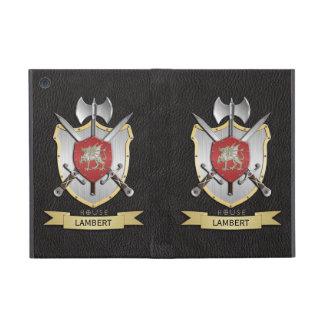 Noir de crête de bataille de Sigil de dragon Coques iPad Mini