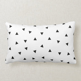 noir de //de forme de rectangle de geo de triangle coussins carrés