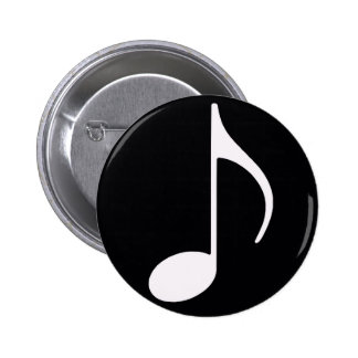 noir de ~ de note musicale badge