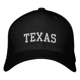 Noir de la Caroline de casquette de laine du Texas