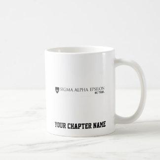 Noir de marque de SAE Mug