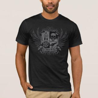 Noir de Steampunk - par annonce Astra d'Aspera T-shirt