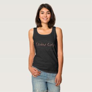 Noir de T-shirt d'adoptée de fille de S/S Godiva