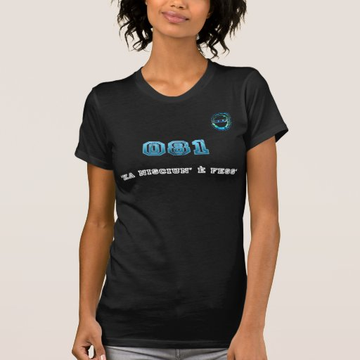 Noir de T-Shirt_Ita_081 Napoli T-shirt
