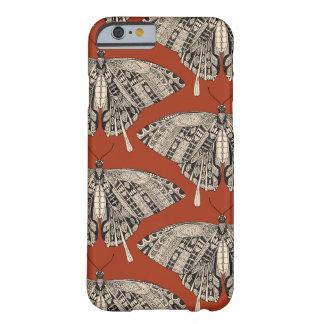 noir de terre cuite de papillon de machaon coque barely there iPhone 6