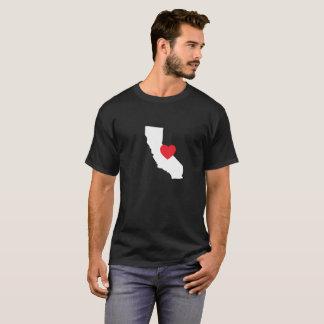 Noir du T-shirt | d'amour de la Californie