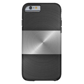 Noir et acier coque iPhone 6 tough
