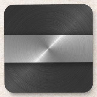Noir et acier sous-bock