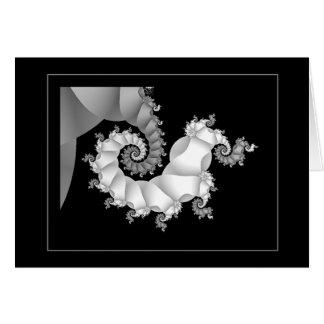 Noir et blanc 3 (embryonnaires) cartes