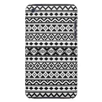 Noir et blanc aztèques d'IIb de motif d'essence Étuis Barely There iPod