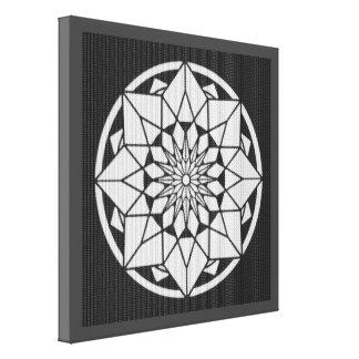 posters mandala noir blanc mandala noir blanc affiches. Black Bedroom Furniture Sets. Home Design Ideas