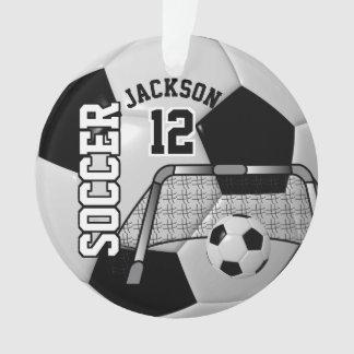 Noir et blanc personnalisez le ballon de football