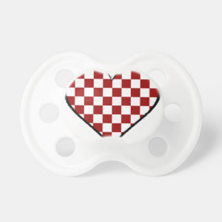 Noir et blanc rencontre la version rouge 25 sucette pour bébé