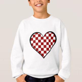 Noir et blanc rencontre la version rouge 25 sweatshirt