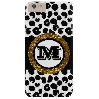 Noir et blanc sauvages audacieux et sophistiqués coque iPhone 6 plus barely there