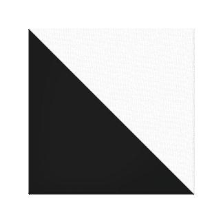 Noir et blanc toiles