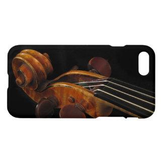 Noir et cas de l'iPhone 7 de musique de rouleau de Coque iPhone 7